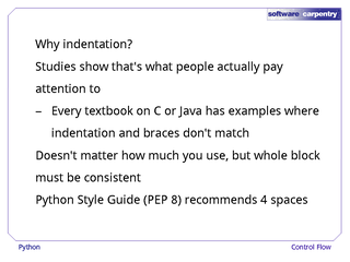 pep 8 style guide for python code