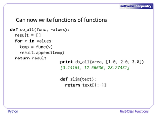 how to call a function in a class python